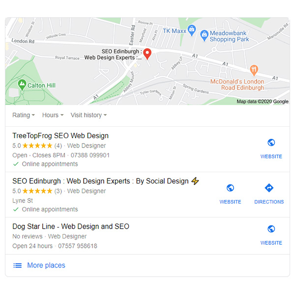 Local SEO Agency Services