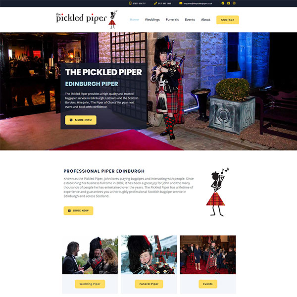 The Pickled Piper Website